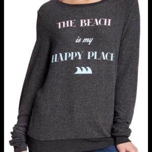 {WILDFOX} Beach is My Happy Place Sweatshirt S